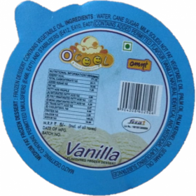 Vanilla OCool 35 mL Small Cups