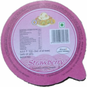 Strawberry OCool 65 mL Large Cups