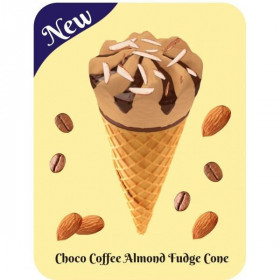 Coffee Choco Almond Cone Omni 120 mL