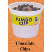 Chocolate Chips Jumbo Cup 130 mL 12 pc