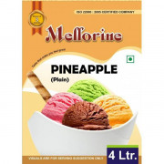 Mellorine Plain Pineapple 4 L