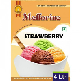 Mellorine Strawberry 4 L