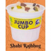 Rajbhog Jumbo Cup 130 mL - 12 pc