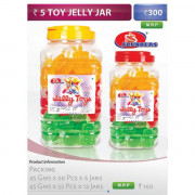 5 Toy Jelly Bars