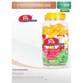 5 Toy Pudding jar