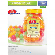 2 Pudding Jars