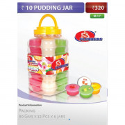 10 Pudding jars