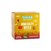 Timios - Mini Oaty Bites - Apple & Kiwi - 18+ months 100% Natural & Healthy snacks for kids