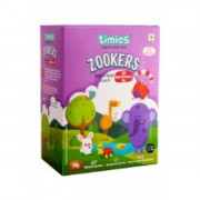 Timios - Zookers Apple & Blueberry Bits - 12+ months 100% Natural & Healthy Biscuits for kids