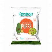 Spinach & Lime PUFFS 2+ Years 100% Natural & Healthy Snacks