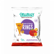 Tomato & Cheese RINGS 2+ Years 100% Natural & Healthy Snacks