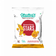 Banana & Honey STARS 2+ Years 100% Natural & Healthy Snacks