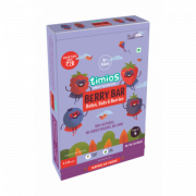 Berry Bar 4+ Years Gift Pack of 4 Natural & Healthy Energy Bars
