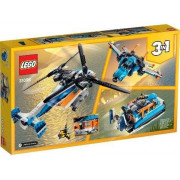 Twin-Rotor Helicopter - LEGO