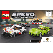 Porsche 911 RSR and 911 Turbo 3.0 - LEGO