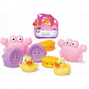 Bathtime Squirtees 8pk – Girl version - Playgro
